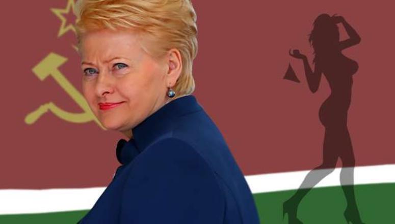 Прощай, Грибаускайте! Литва …