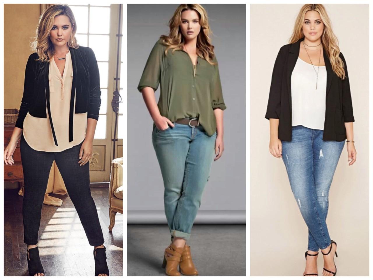 Как одеваться полным женщинам низкого роста: 7 стильных советов