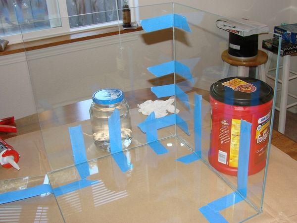 Как самому сделать аквариум в домашних 352