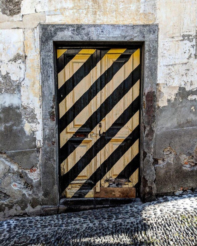 15. дверь, картина, мадейра, португалия, путешествие, фотография, фотомир