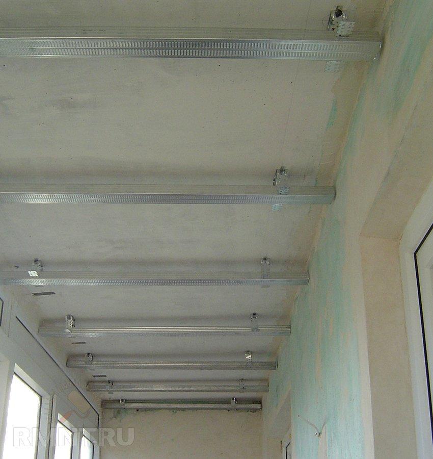 Мастер класс потолок панелями.