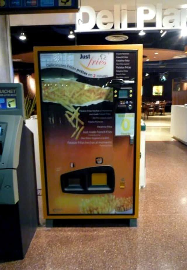 10. Этот автомат готовит картошку фри за 2 минуты Вендинговые автоматы, С миру по нитке, вендинговый аппарат, вот это да!, до чего техника дошла, познавательно, торговые автоматы, торговый автомат