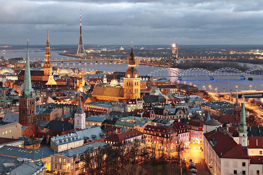 Добро пожаловать в Латвию: р…