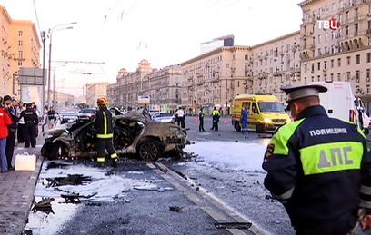 Устроивший ДТП на Кутузовском проспекте снимал уличные гонки на видео
