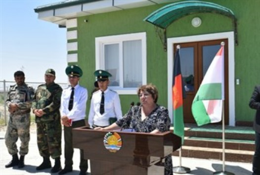Награнице Таджикистана сАфганистаном открыты погранпредставительства