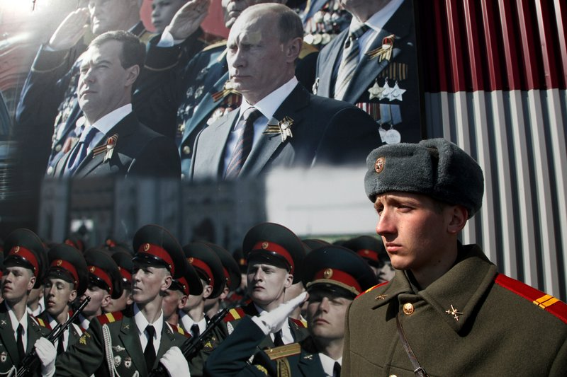 Путин-царь попал на обложку Time