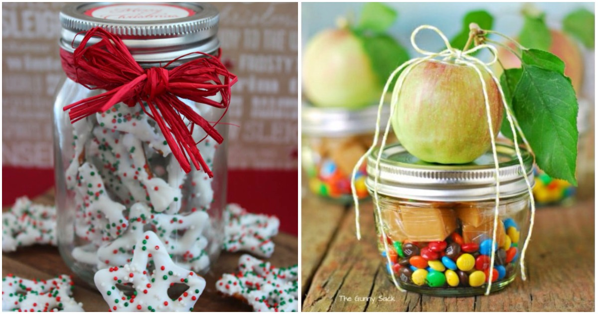 20+ необычных идей вкусных подарков в баночке. Порадуйте своих любимых