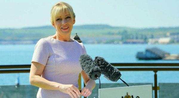 Мария Захарова: «США недовольны Крымским мостом потому, что он закрыл проход для их военного 6-го флота!»