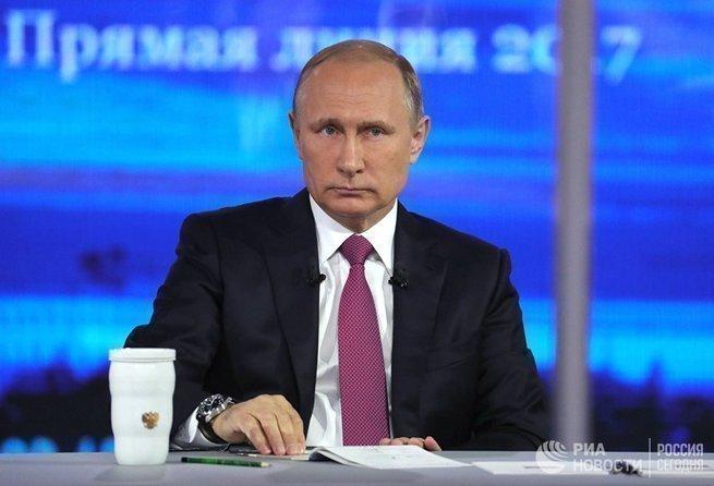 Атака на Путина, атака на Россию.