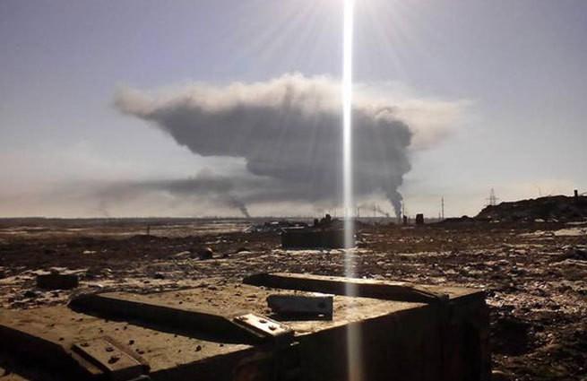Ополченцы взорвали склад боеприпасов ВСУ в Дебальцеве точечным ударом