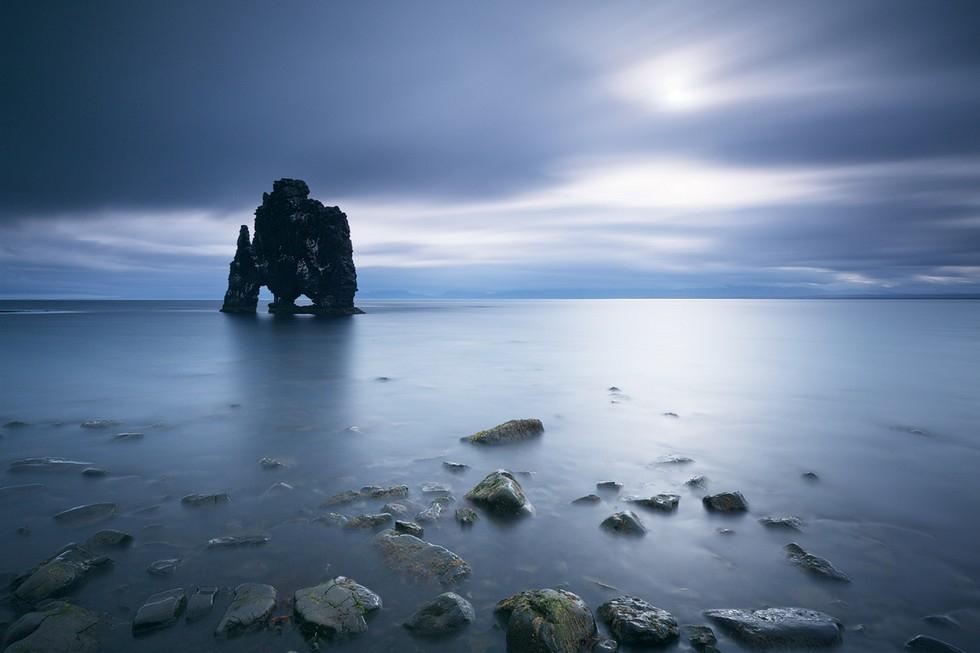 Хвитцеркур: необычайное скальное чудовище Исландии