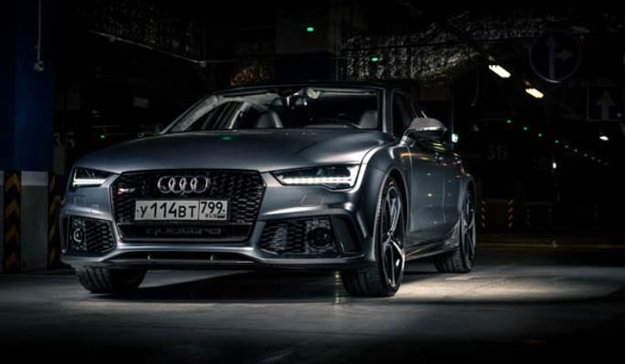 Audi RS7: Быстрее ветра