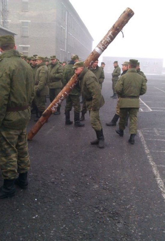 Вот так вот в армии бросают курить