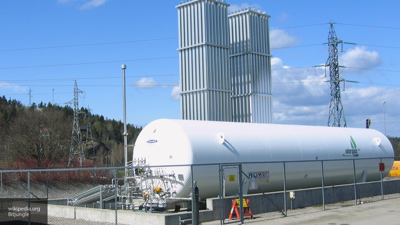 Транзит газа через Украину в ЕС снизился на 23% из-за взрыва в Австрии
