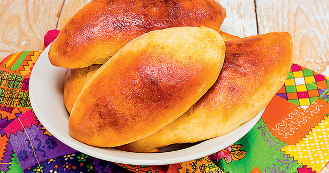 Пирожки из кефира