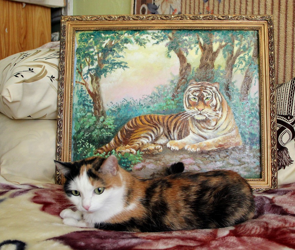 два тигра