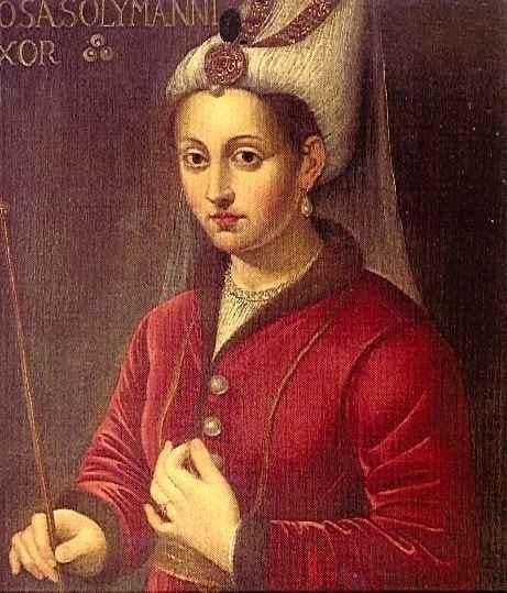 Роксолана - Хюррем-султан.