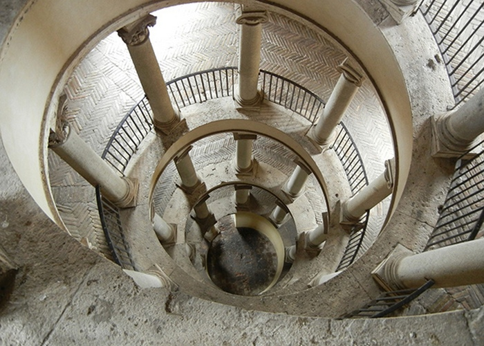 Музеи Ватикана: «Лестница Браманте».