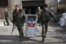 Выборы в Донецке