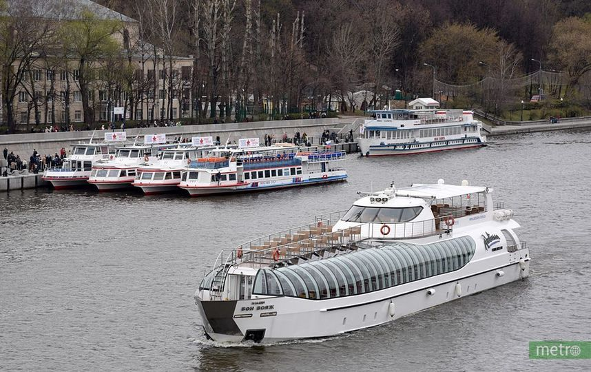 Зимняя пассажирская навигация начала работать по Москве-реке
