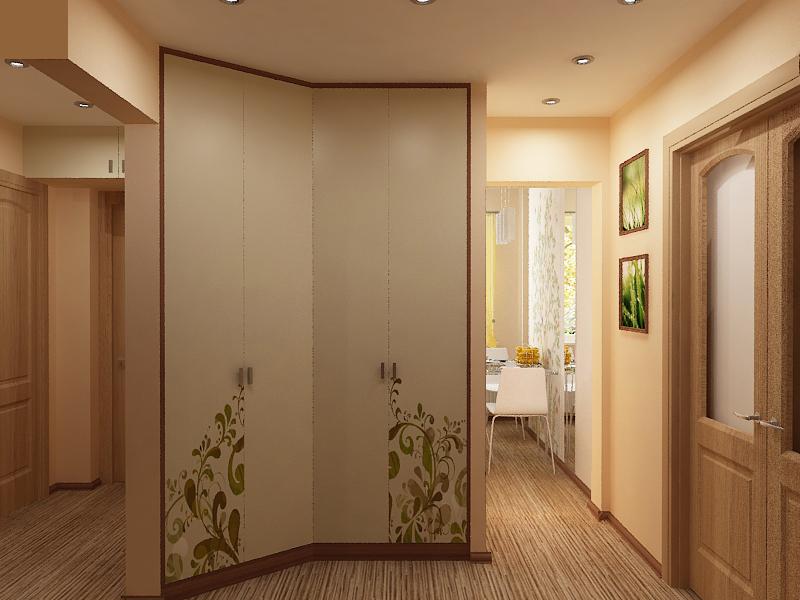 Дизайн коридора 12 кв.м фото