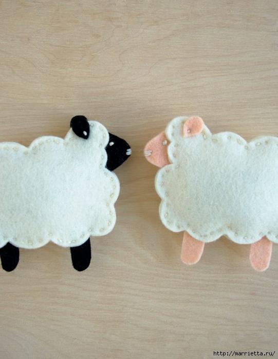Деревянная овечка своими руками