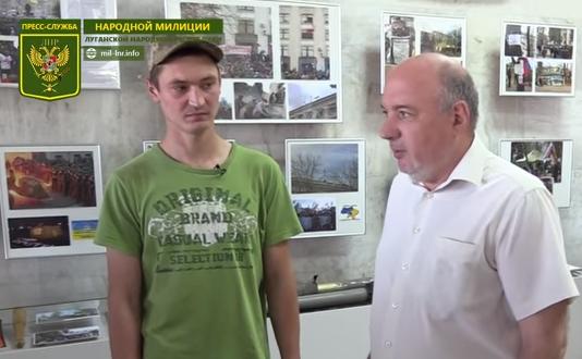 «Разрывайте контракты»: Пленный украинский солдат обратился к ВСУ после экскурсии по Луганску