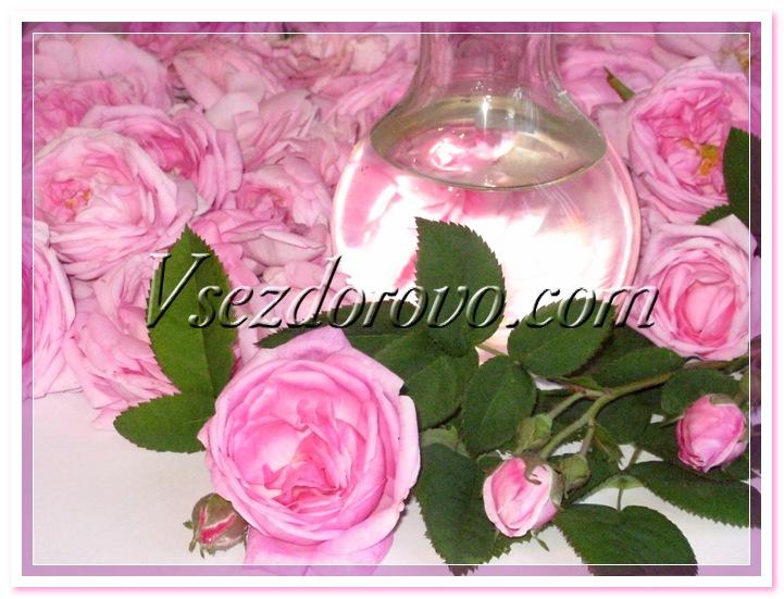 Гидролат розы фото