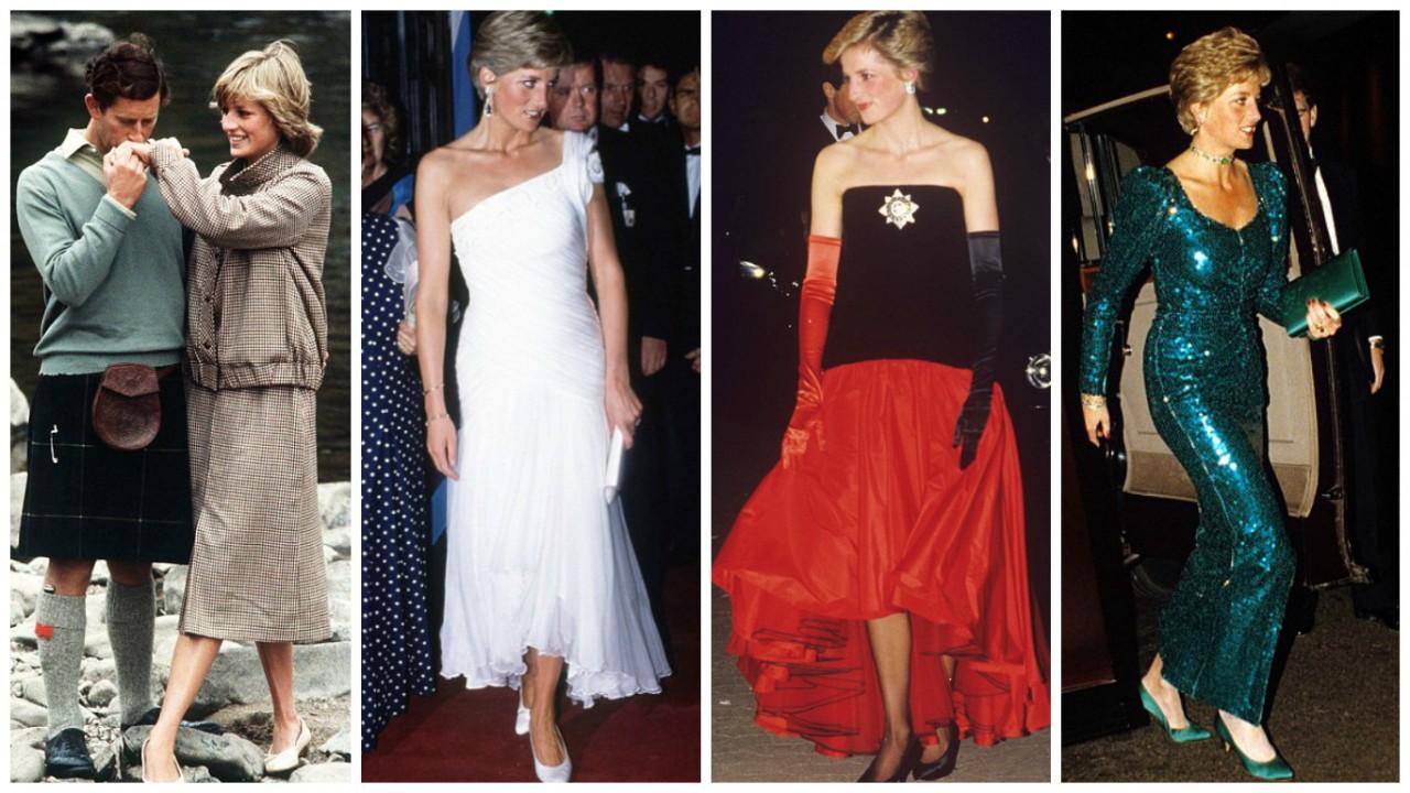 Знаменитые наряды принцессы Дианы