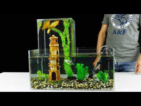 Многоуровневый аквариум своими руками