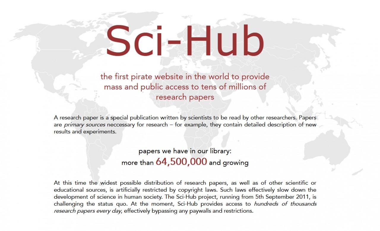 Блокировка Sci-Hub в туземной науке