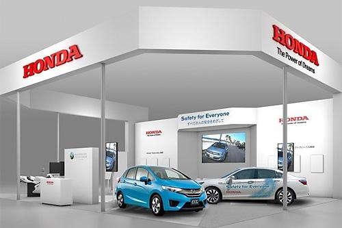 Honda представила инновационные системы безопасности