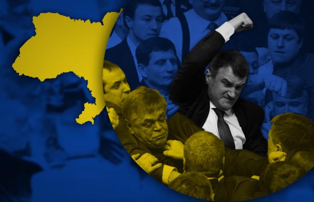 Украинские политики все больше деградируют с каждым поколением