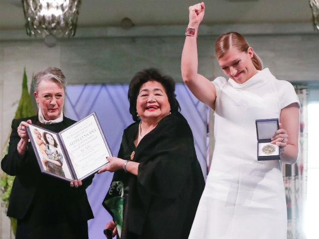 Нобелевскую премию мира вручили борцам с ядерным оружием