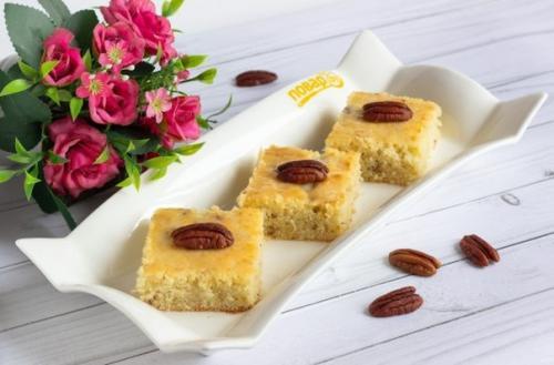 Пирожные с орехами пекан.