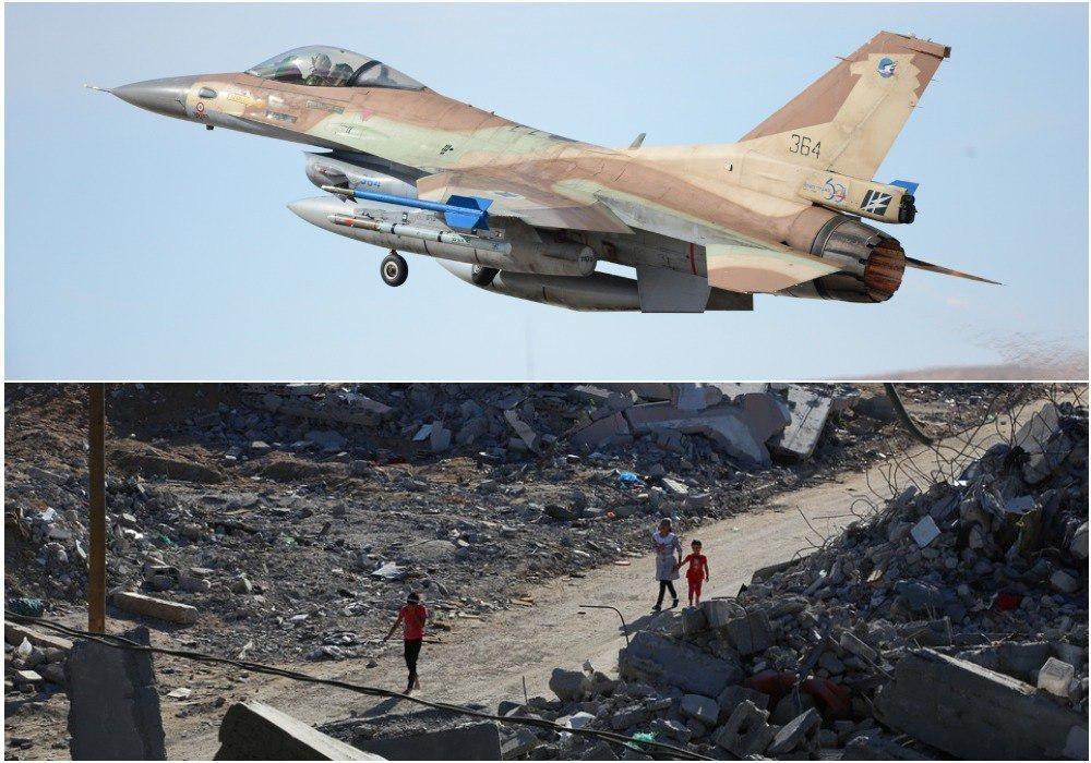Израиль ответил авиаударом по сектору Газа на ракетный обстрел