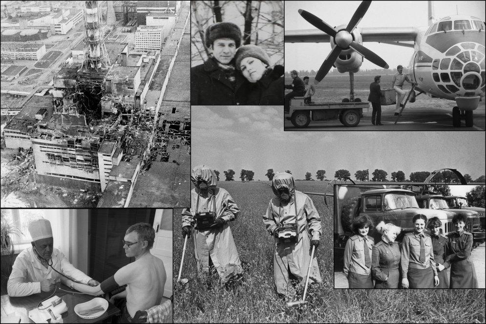 32 года страшной аваарии на Чернобыльской АЭС 28 архивное фото