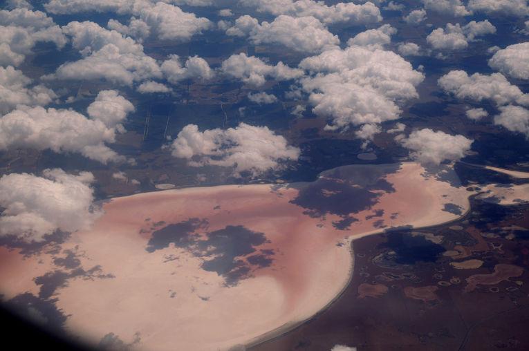 Хиллер - озеро на юго-западе Австралии