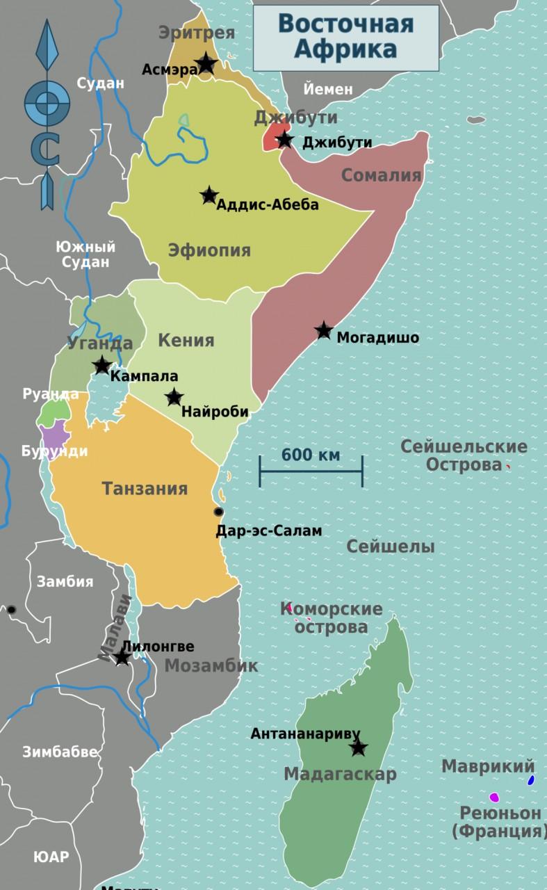 Россия получит упрощенный доступ с Мозамбик