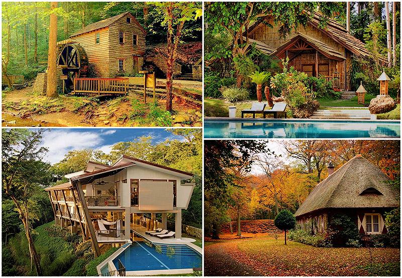 BIGPIC115 Самые красивые дома в лесу