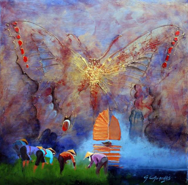 В будни жизнь не превращая, мир любя... Французский художник George Corominas