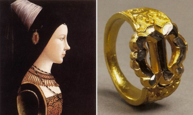Обычай преподносить своей возлюбленной кольцо зародился очень давно…