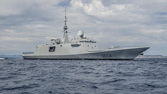 При потере связи с Ил-20 зафиксированы пуски ракет с французского фрегата