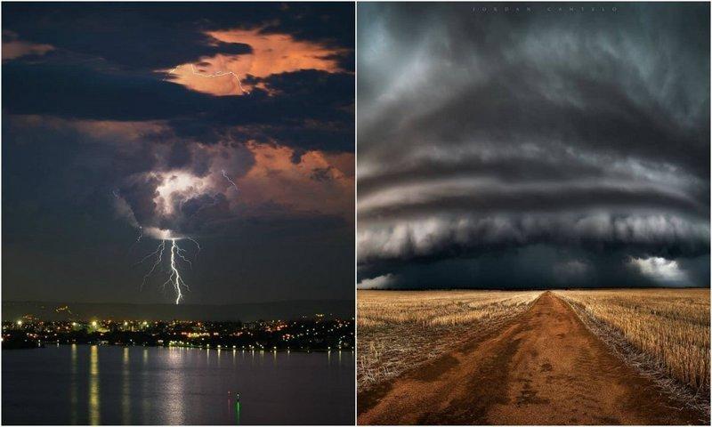 Австралийское ненастье на фотографиях Джордана Кантело (26 фото)