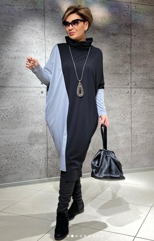 Хотите выглядеть стильно, но не знаете, что купить. Подборка классных образов для женщин 50+
