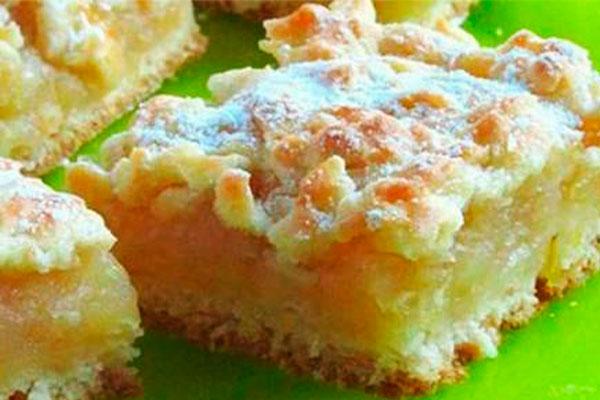 Пирог с нежной лимонно-яблоч…