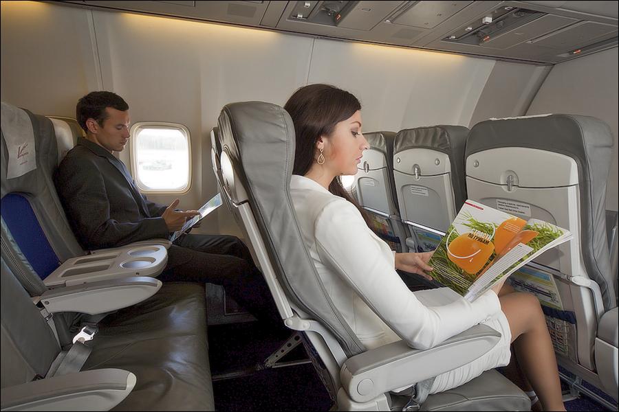 История про полет бизнес классом