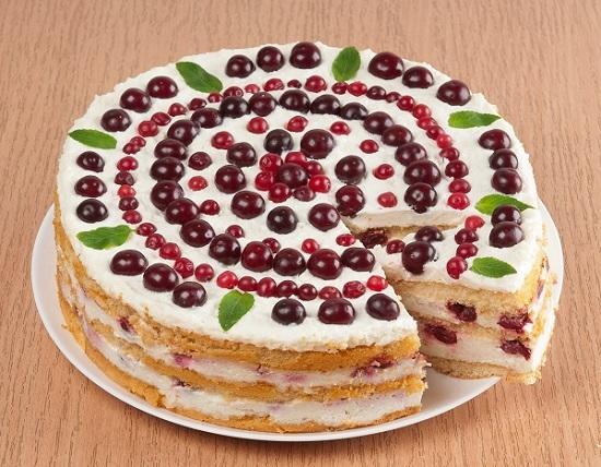 Торт со сметанным кремом/Фото: А. Соколов/BurdaMedia