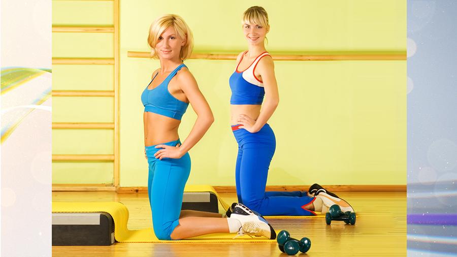Фитнес на коленке