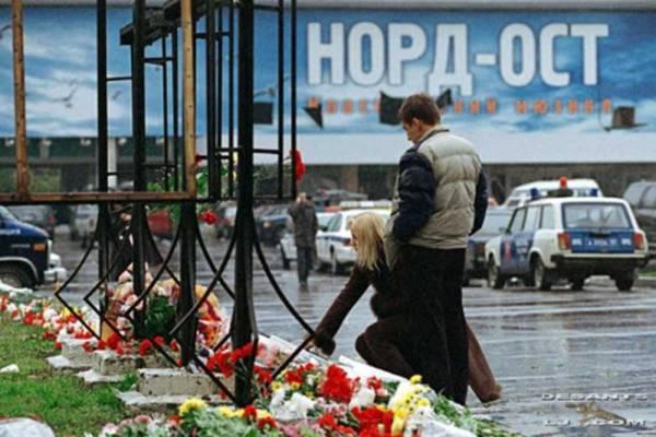 Памяти жертвам «Норд-Ост»